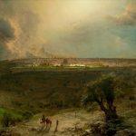 Заказать картину-Чёрч Фредерик-Church_Frederick_Edwin_Jerusalem_from_the_Mount_of_Olives