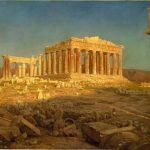 Чёрч Фредерик-Parthenon_(1871)_Frederic_Edwin_Church-картина