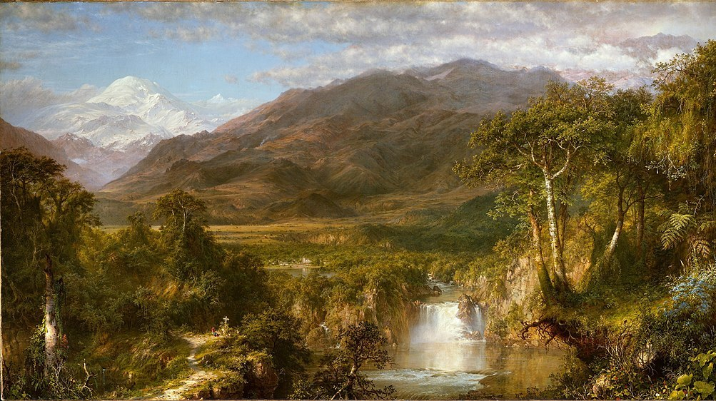 Картина-Чёрч Фредерик-The Heart of the Andes (1826–1900)