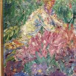 Закахать картину-Nolde Emil-(если присмотреться увидите женщину)-Фрагмент