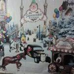 Клавдиевская фабрика елочных украшений | картины художников-Интереьер фабрики