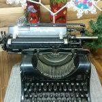 Печатная машинка для писем Деда Мороза