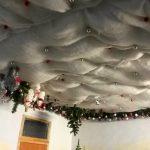 Клавдиевская фабрика елочных украшений | картины художников -Потолок фабрики