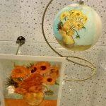 Картины художников-Репродукции известных картин на ёлочных игрушках-заказать картину, роспись-Ван Гог