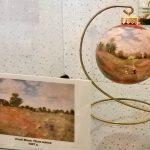 Картины художников-Репродукции известных картин на ёлочных игрушках-заказать картину, роспись-Клод Моне
