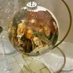 Репродукции известных картин на ёлочных игрушках-картины на заказ1