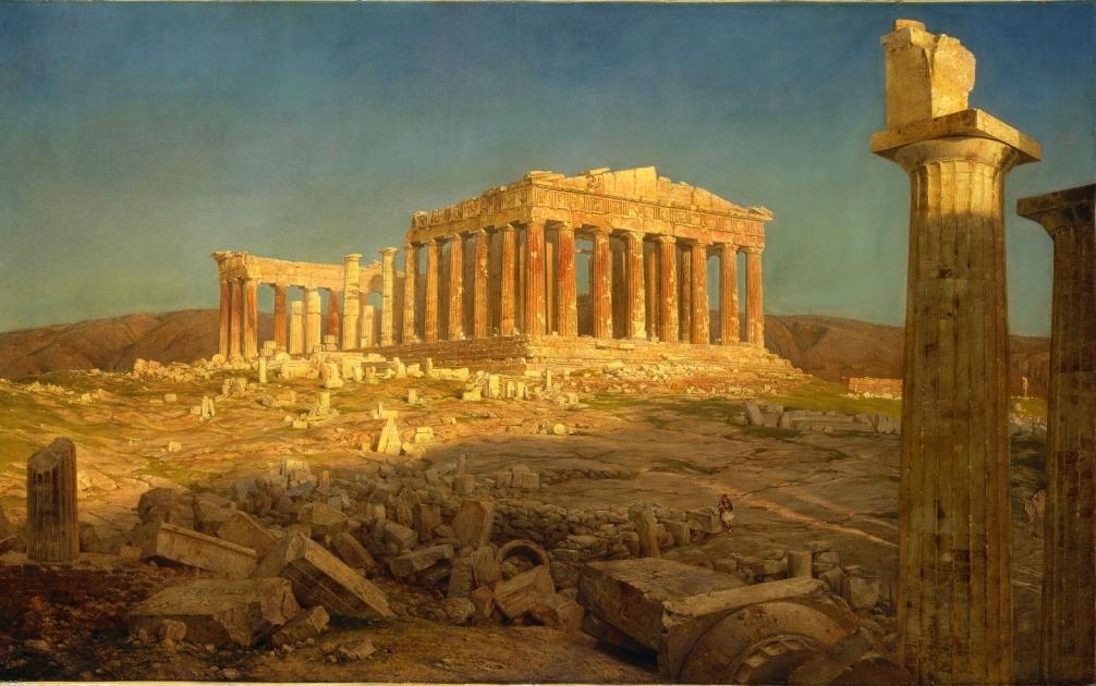 Заказать картину-Чёрч Фредерик-Parthenon_(1871)_Frederic_Edwin_Church