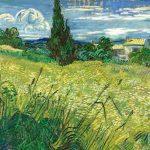 Заказать картину-Ван Гог - Зелёное пшеничное поле с кипарисом