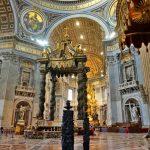Ватикан-собор св.Петра,Микеланджело-Рафаэль.