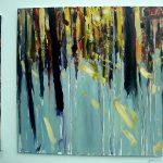 Картина-Выставка современного искусства, картина маслом