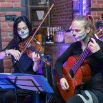 Выступление на Hellowin в дуэте с Еленой Тибирковой