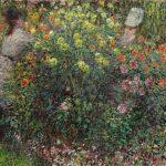 Картина-Клод Моне - Ladies in Flowers