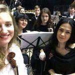 На сцене Одесской Филармонии в составе Gloria Orchestra
