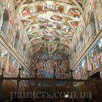 Ватикан-Сикстинская капелла-Микеланджело-Рафаэль