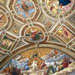 Фото-Шедевры живописи.,роспись потолков-Рим-Ватикан.