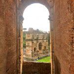 Фото-Вид на Триумфальную арку Константина