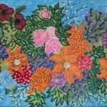 Косик Анастасия-летние цветы мозика бисер,бусины ,стеклярус.г Краматорск