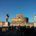Рим-Колизей-Треви-Бонджорно,Италия! -Фото-Мост Бернини-Мост Святого Ангела