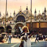 Муза Портала-Ирина-Венеция-Италия-пл.Св.Марка, 1996 г.