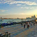 Набережная Венеции-Венецианский пейзаж-заказать картину по фото
