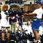 Олег М. Караваев в Венеции-далёкий 1996 год.))