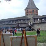 Вид на крепость со стороны мольбертов