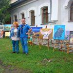 Организаторы выставки чета Караваевых