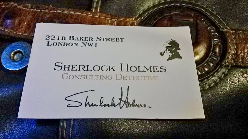 Привет от Шерлока Холмса