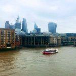 Вид рядом с Галереей современного искусства,Лондон1