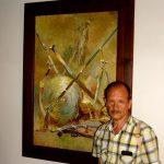 Галерея исторической живописи Хотинской крепости.С.Григорьев