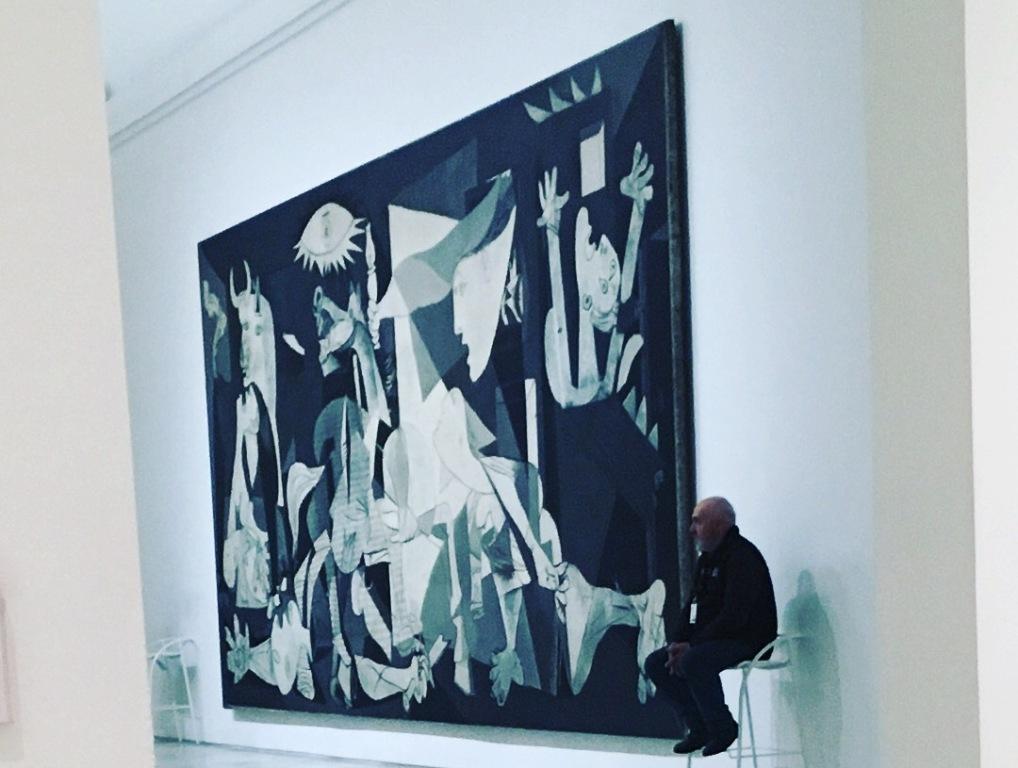 Герника-Пабло Пикассо-фото Анны Прохоровой-Музей Рейна-София (Reina Sofia) в Мадриде