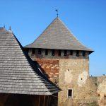 Хотинская крепость.Башни