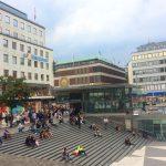 Городской пейзаж Стокгольма