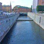 Каналы -Городской пейзаж_Стокгольм_Швеция