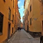 Улочки шведского Стокгольма