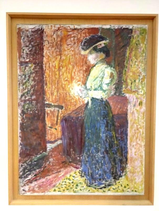 Портрет мадам Матисс, художник Альбер Марке