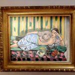 Музей Анри Матисса в Ницце -Одалиска с красной коробкой 1927 г.