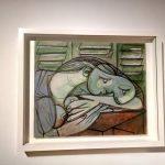 Пабло Пикассо, «Спящая с жалюзи», 1936 г.