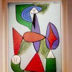 Пабло Пикассо, «Женщина, сидящая в кресле», 1947 г.