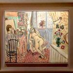 Анри Матисс, «Художник и обнаженная модель»,1921 г.