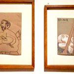 Пабло Пикассо, «Художник и его модель», 1970 г.