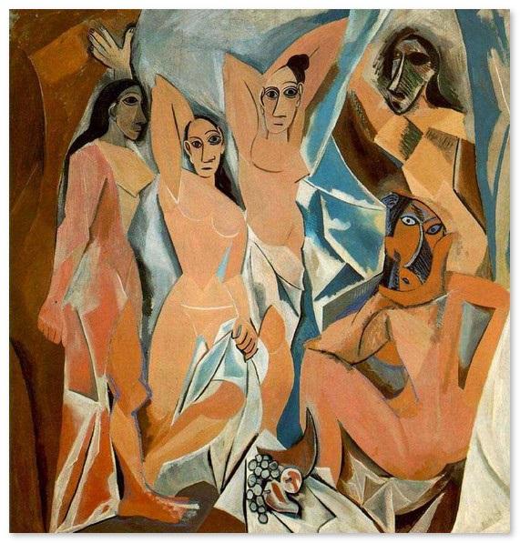 Авиньонские девицы-Пикассо