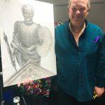 Дружеский шарж Автору Проекта от Заслуженного художника Украины Владимира Подчекаева старшего