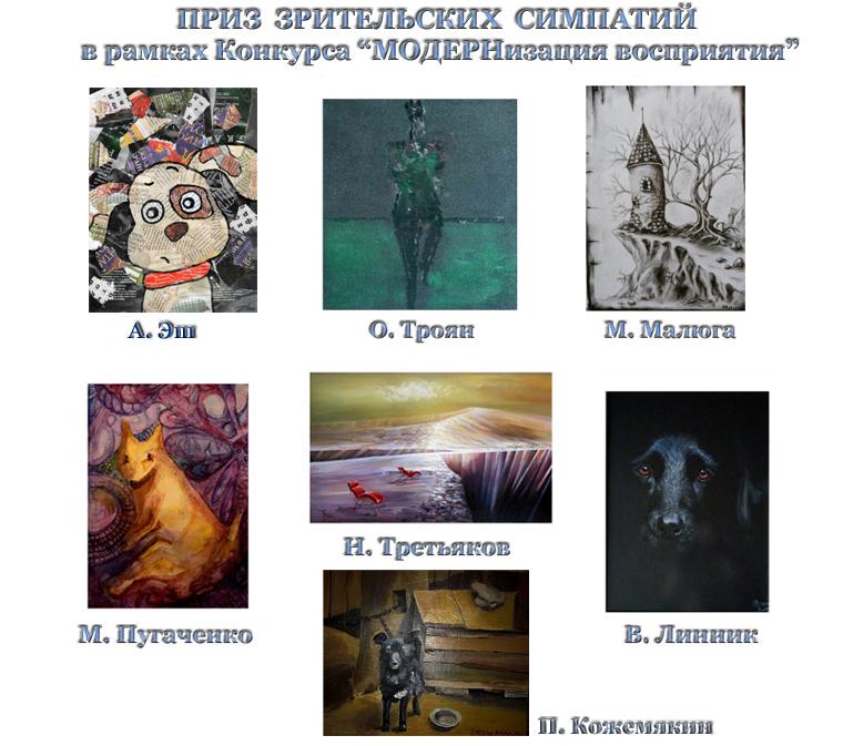 Победители в номинации Приз Зрительских Симпатий