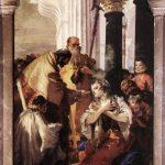 Джованни Баттиста Тьеполо-Последнее причастие Святой Люсии