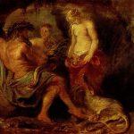 Рубенс Питер Пауль-Бог реки Шельды, Кибела и богиня города Антверпена