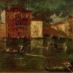 Франческо Гварди-Палаццо Бальби на Большом канале в Венеции