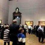 Залы музея..Выставка Питера Брейгеля Старшего.Вена...