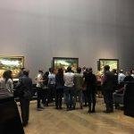 Залы музея..Выставка Питера Брейгеля Старшего.Вена