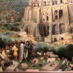Вавилонская башня-Брейгель Ст.-Фрагмент